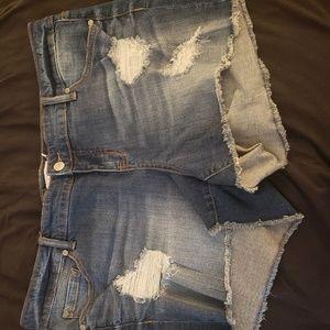 Torrid size 18 jean shorts